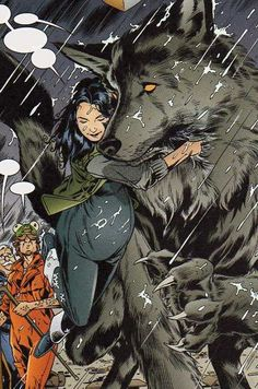 Snow White and Bigby Wolf aka Big Bad Wolf. Best couple in th comic book world.