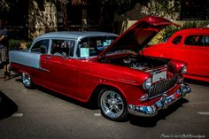 1955 Chevy-Discover Silver City - 8.23.14 - 2014 Copper Country Classic Car Show