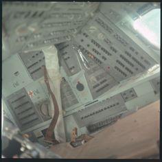 Apollo 11 Hasselblad image from film magazine 36/N - Trans-Lunar