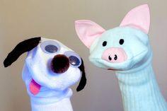 Sock Puppets: 8 DIY Gift Ideas ~Mommy Scene Blog