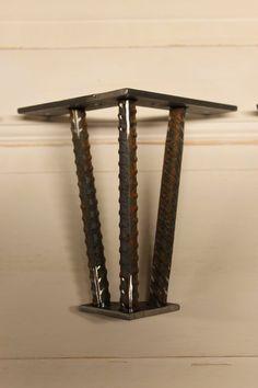 6 Metal Table Leg Set of 4 Legs by nakedMETALstudio on Etsy