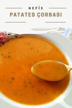 kişinin defterindeki Nefis Patates Çorbası Tarifi'nin resimli anlatımı ve deneyenlerin fotoğrafları burada. Yazar: Sezer Ozan potato al horno asadas fritas recetas diet diet plan diet recipes recipes Lunch Recipes, Soup Recipes, Diet Recipes, Healthy Recipes, Potato Recipes, Yummy Recipes, Shellfish Recipes, Potato Soup, Potato Diet