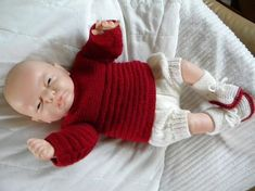 X Free Knitting, Baby Knitting, Knitted Baby, Tricot Baby, Cardigan Bebe, Pull Bebe, 20 Minute Workout, Baby Born, Leg Warmers
