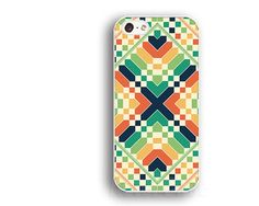 geometric caseblue redIPhone 5s caseIPhone 5c by artercase on Etsy, $9.99