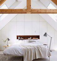 Une chambre cosy avec dressing intégré - Marie Claire Maison