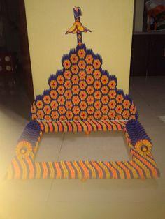 3D Origami Ganapati decoration