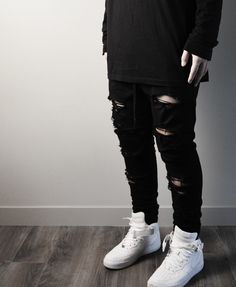 bombclothing: Distressed essential pants. Bomb Co. Distressed Essential Pants by bomb co. Daily streetwear over here aquatty