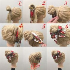 Medium updo easy
