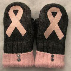 Breast Cancer Awareness Applique Convertible Warm by LittleKittens, $32.00