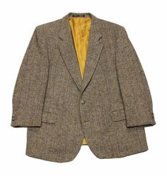 Vintage Alexandre of England Harris Tweed Wool Jacket Mens Size 45S $150.00