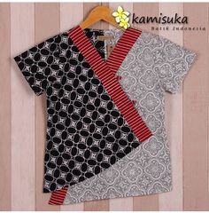 Coat Patterns, Blouse Patterns, Blouse Designs, Blouse Batik, Batik Dress, Model Kebaya, Amarillis, Batik Kebaya, Dress Anak