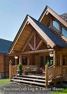 custom log cabins - Google Search