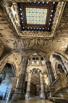 Palacio de Sobrellano, en #Comillas #Cantabria #Spain #Travel