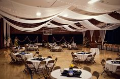 MUST do this for a reception in a church gym. :)