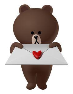 Cony Brown, Baby Panda Bears, Brown Line, Friends Wallpaper, Cute Love Cartoons, Line Friends, I Love Him, Minions, Stickers