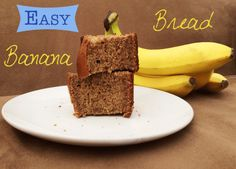 Easy Banana Bread Recipe {With Olive Oil Instead of Butter}