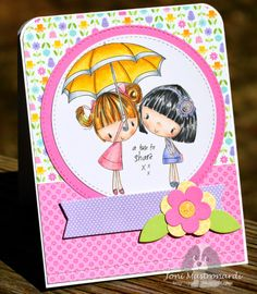 Joni52 Stamps and Scraps: Springtime Challenge