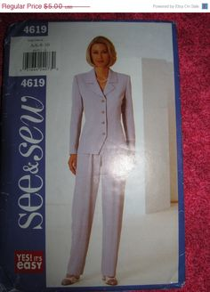 Sale 1980's Butterick See & Sew Sewing pattern by EarthToMarrs, $3.75