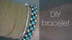 DIY: turquoise bracelet