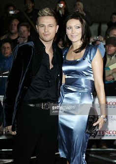 Nicky Byrne And Georgina Ahern Arrive At The Daily Mirror Pride Of Britain Awards 2007, London Television Centre, South Bank, London.