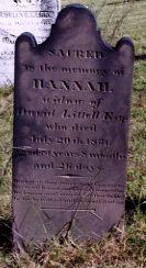 Hannah Miller Littell (1749 - 1831) - Find A Grave Photos