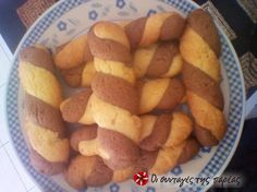 Great recipe for Unbeatable biscuit cookies by Eleni. This is a recipe by Eleni, my favorite cousin, who has an unbelievable talent in making anything in the fastest and simplest way and always delicious! Recipe by hayat Sweets Recipes, Easter Recipes, Baking Recipes, Cookie Recipes, Snack Recipes, Greek Sweets, Greek Desserts, Greek Recipes, Custard Cake Filling