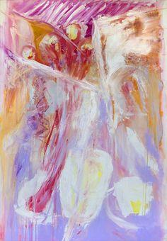 Trenton Shipley | Australian Oil Painter | 'Printemps' Rhythm oil on canvas 205 x 143 cm Oil Painters, Oil On Canvas, Spring