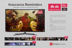 BRADESCO / INSURANCE REMINDERS - | wolff, copywriter, creative director |
