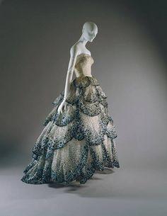 Dior, 1949 ball gown, Junon