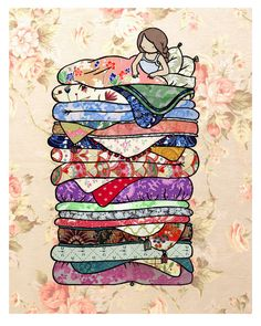 "Stasia Burrington, ""Princess and the Pea"".  I'm really glad the pea made it into this one."