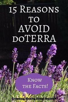 Why You Avoid Joining doTERRA