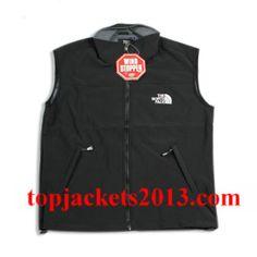 The North Face Outlet Mens Summit Series Windstopper Vest Black