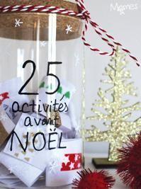 Calendrier Avent Noël Activités
