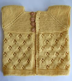 Boheme, by Allegra Wermuth (http://www.ravelry.com/patterns/library/boheme) I need a baby (NOT my own, I'm done with that) to make this for! So cute!