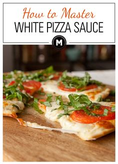 White Pizza Sauce - Anybody can slap some tomato sauce on a pie and call it a day, but a real homemade pizza expert can nail the white sauce. It's totally worth it oh... and not actually that hard. Via Macheesmo