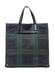 Plaid Tote Bag from The Bag Guide Feat. Rawlings on Gilt