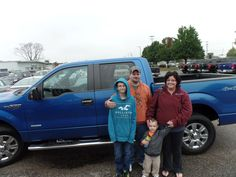 Congratulations to the Houles on their purchase of a new Ford F150! We appreciate the opportunity to earn your business and hope you enjoy your new truck!