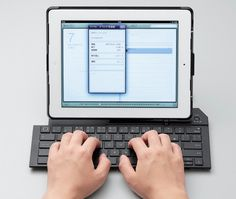Bluetooth Keyboard Case for the new iPad
