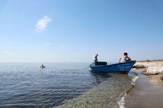 Verkoelende dip in de Ionische zee. Dip, Boat, Salsa, Dinghy, Boats, Ship