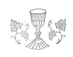 Molde de dibujos religioso para bordar - Imagui
