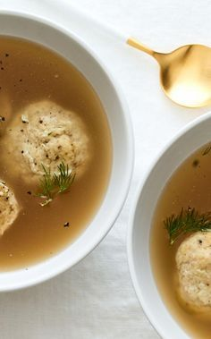 Make ahead Chicken Stuffed Matzo Ball Soup for Passover