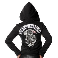 Sons Of Anarchy Womens Highway Jacket 805275
