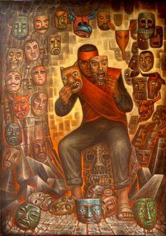 El hombre del rito y la magia  - : ARTE DE CARLOS ORDUNA BARRERA ARTE DE MEXICO…