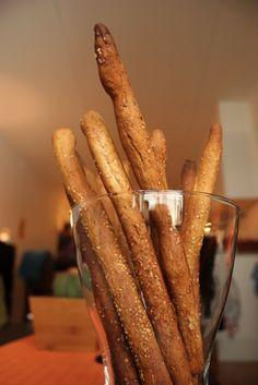 VeganMisjonen: Sprø brødpinner