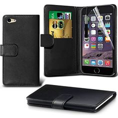 iPhone 6S Case Black Wallet Case free screen protector BY DN-TECHNOLOGY® (IPHONE 6S, BOOK BLACK) D & N http://www.amazon.co.uk/dp/B014QVVWHI/ref=cm_sw_r_pi_dp_avLewb01SB5BX