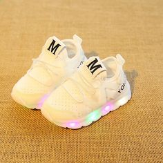 Kids Baby Girls Boys Candy Color Mesh Sport Shoes Toddler Infant Running Casual Shoes Voberry