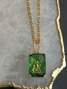 Black Onyx Emerald Figa Pendant 18k Gold 925 Sterling Silver Diamond Jewelry
