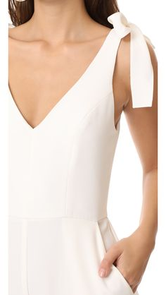 White Jumpsuit for women jumpsuit for spring jumpsuit for women dressy jumpsuit. - March 16 2019 at Jumpsuit Dressy, White Jumpsuit, Pant Jumpsuit, White Dresses For Women, Nice Dresses, Long Sleeve Playsuit, Cape Gown, Latest Fashion For Women, Womens Fashion