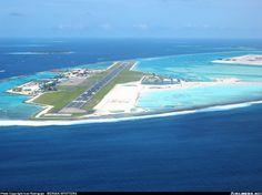 Мальдивы. Мале.                          Международный аэропорт имени Ибрагима Насира