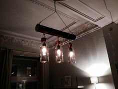 DIY low budget vintage chandelier #TTDD